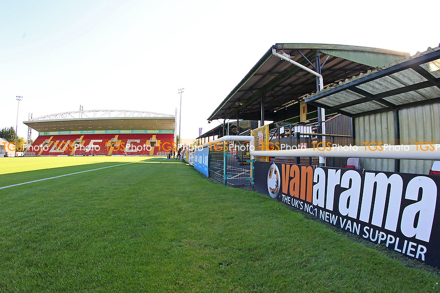 General view of the ground ahead of Woking vs Leyton Orient, Friendly Match Football at The Laithwaite Community Stadium on 19th July 2016