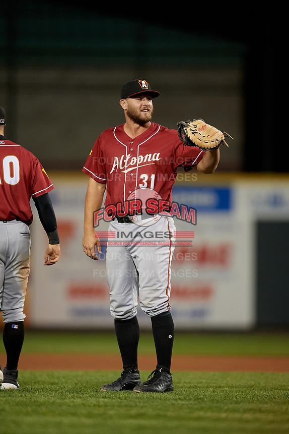 Altoona Curve Jerrick Suiter (31) during an Eastern League game against the Erie SeaWolves on June 3, 2019 at UPMC Park in Erie, Pennsylvania.  Altoona defeated Erie 9-8.  (Mike Janes/Four Seam Images)