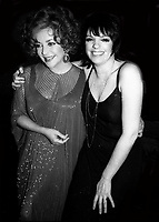 Elizabeth Taylor and Liza Minnelli Undated<br /> Photo By Adam Scull/PHOTOlink.net