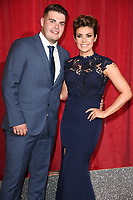 Kym Marsh and son, David<br /> at the British Soap Awards 2017 held at The Lowry Theatre, Manchester. <br /> <br /> <br /> ©Ash Knotek  D3272  03/06/2017