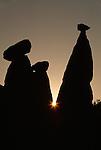 Fairy chimneys, Cappadocia, Turkey