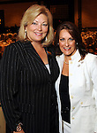 Susan Myers and Tally Blumrosen at the Guardian of the Human Spirit Luncheon at the Hilton Americas Hotel Monday Nov. 05,2012.(Dave Rossman photo)