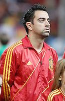 Spain's national team Xavi Hernandez during match. October 16, 2012. (ALTERPHOTOS/Alvaro Hernandez) /NORTEPhoto