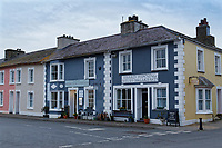 Summer Grill, Harbour Views bed and Breakfast in Aberaeron, Ceredigion, Wales, UK. Wednesday 21 March 2018