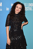 """Elysia Welch<br /> arriving for the """"Eternal Beauty"""" screening as part of the London Film Festival 2019 at the NFT South Bank, London<br /> <br /> ©Ash Knotek  D3523 08/10/2019"""