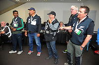 Photographers are briefed on day two of the 2017 HSBC World Sevens Series Wellington at Westpac Stadium in Wellington, New Zealand on Sunday, 29 January 2017. Photo: Dave Lintott / lintottphoto.co.nz