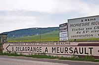 B Delagrange, Mersault, Volnay, Pommard, Beaune. The village. Pommard, Cote de Beaune, d'Or, Burgundy, France