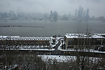 Winter storm effects New York Area
