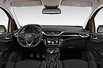 Stock photo of straight dashboard view of 2019 Opel Corsa GSI 3 Door Hatchback Dashboard