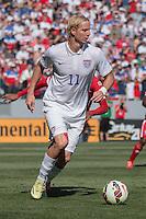 Carson, CA - Sunday, February 8, 2015 Brek Shea (11) of the USMNT. The USMNT defeated Panama 2-0 during an international friendly at the StubHub Center.
