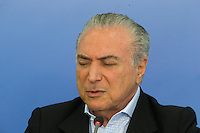 BRASILIA, DF, 27.11.2016 - TEMER-ENTREVISTA - O presidente Temer, durante entrevista coletiva no Palácio do Planalto, neste domingo, 27. (Foto:Ed Ferreira / Brazil Photo Press)