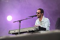Ghinzu sur la scène de Rock en Seine à Saint Cloud le dimanche 28 août 2016