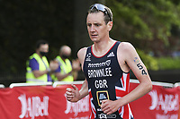 6th June 2021; Leeds, Yorkshire, England;  Alistair Brownlee during the AJ Bell 2021 World Triathlon Series Event in Roundhay Park, Leeds.