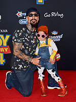 "LOS ANGELES, USA. June 12, 2019: Joseph Lucero & Guest at the world premiere of ""Toy Story 4"" at the El Capitan Theatre.<br /> Picture: Paul Smith/Featureflash"