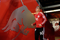 Harrison, NJ - Tuesday April 10, 2018: Marc Rzatkowski prior to leg two of a  CONCACAF Champions League semi-final match between the New York Red Bulls and C. D. Guadalajara at Red Bull Arena. C. D. Guadalajara defeated the New York Red Bulls 0-0 (1-0 on aggregate).