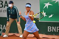 8th October 2020, Roland Garros, Paris, France; French Open tennis, Roland Garros 2020; Alexandra Eala - Philipines