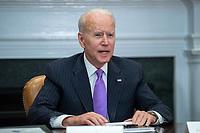 Biden meets with FEMA Administrator