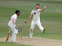 Tim Groenewald bowls for Kent during Kent CCC vs Sussex CCC, Bob Willis Trophy Cricket at The Spitfire Ground on 8th August 2020