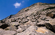 Franconia Notch State Park - Cannon Cliff  in the White Mountains, New Hampshire USA