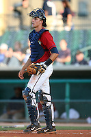April 19 2009: Jason Castro of the Lancaster JetHawks during game against the High Desert Mavericks at Clear Channel Stadium in Lancaster,CA.  Photo by Larry Goren/Four Seam Images