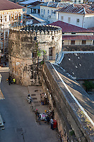 Stone Town, Zanzibar, Tanzania.  Old Arab Fort.