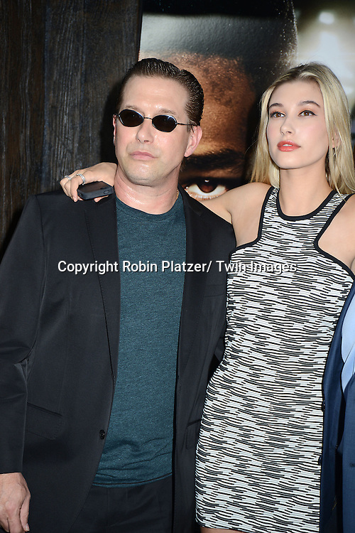 """Stephen Baldwin and daughter Hailey attend the Domestic Premiere of """"After Earth""""  on May 29, 2013 at the Ziegfeld Theatre in New York City."""