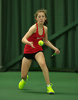Rotterdam, The Netherlands, March 19, 2016,  TV Victoria, NOJK 14/18 years, Jade Kluijtmans  (NED)<br /> Photo: Tennisimages/Henk Koster