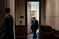 """United States Representative Jerrold Nadler (Democrat of New York), Chairman, US House Judiciary Committee arrives for a hearing on """"Oversight of the Department of Justice: Political Interference and Threats to Prosecutorial Independence"""" on Capitol Hill in Washington DC on June 24th, 2020.<br /> Credit: Anna Moneymaker / Pool via CNP/AdMedia"""