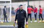 St Johnstone Training...19.03.21<br />Manager Callum Davidson pictured during training at McDiarmid Park ahead of tomorrows game against Ross County.<br />Picture by Graeme Hart.<br />Copyright Perthshire Picture Agency<br />Tel: 01738 623350  Mobile: 07990 594431