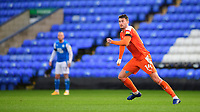Blackpool's Gary Madine<br /> <br /> Photographer Chris Vaughan/CameraSport<br /> <br /> The EFL Sky Bet League One - Peterborough United v Blackpool - Saturday 21st November 2020 - London Road Stadium - Peterborough<br /> <br /> World Copyright © 2020 CameraSport. All rights reserved. 43 Linden Ave. Countesthorpe. Leicester. England. LE8 5PG - Tel: +44 (0) 116 277 4147 - admin@camerasport.com - www.camerasport.com