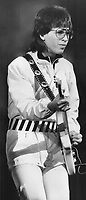 Elliott Easton: The Cars lead guitarist often fled to easier flowing styles of early and mid-'70s; reviewer Henry Mietkiewicz says of last night's Grandstand show.<br /> <br /> Griffin, Doug<br /> Picture, 1980