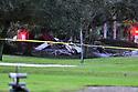Small Plane crash Honeywoods community in Pembroke Pines, Florida