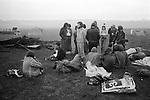 Free festival at Stonehenge Summer Solstice 1976...
