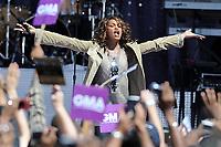 NEW YORK - SEPTEMBER 01: Singer Whitney Houston performs on ABC's 'Good Morning America' on September 1, 2009 in New York City<br /> <br /> People:  Whitney Houston