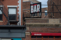 """Audubon Bar announced a temporary closure due to the ongoing Coronavirus (COVID-19) global pandemic on Dec. 1 in Boston, Massachusetts, on Wed., Jan. 6, 2021. In the announcement, Audubon announced: """"While the winter looms ahead, we have decided to do our part and shut our doors for a bit to keep our family and friends safe...We hope to throw some cocktail pop-ups during this time away — not goodbye just see you later. Stay safe and see you in the spring. Thank you for the bottom of our hearts."""""""