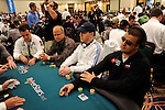 PS Team Pros Alex Gomes and Andre Akkari seated at the same table on DEay 1B