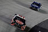 #95: Christopher Bell, Leavine Family Racing, Toyota Camry Rheem, #17: Chris Buescher, Roush Fenway Racing, Ford Mustang Fastenal