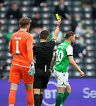 22.05.2021 Scottish Cup Final, St Johnstone v Hibs: Martin Boyle booked for diving