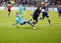 Fornebu, 20100320. Stabaek-VIF. 1-1. Mohammed Abdellaoue (Moa). Foto: Eirik Helland Urke (OBS: faktureres ved bruk)