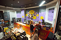 Customers shop Thursday Oct. 7, 2021 at the Spirit Halloween store in the Northwest Arkansas Mall.