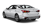 Car pictures of rear three quarter view of 2020 Nissan Altima SV 4 Door Sedan Angular Rear
