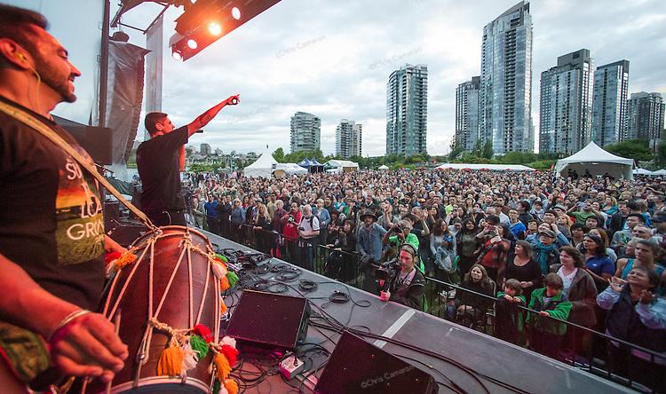 Delhi 2 Dublin at David Lam Park, June 28, 2014 TD Vancouver International Jazz Festival