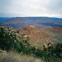 Grand Canyon National Park, Arizona, USA - Scenic View from South Rim, overlooking Grand Canyon and North Rim