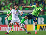 Jeonbuk Hyundai Motors vs Beijing Guoan during the 2015 AFC Champions League Round of 16 1st Leg match on May 19, 2015 at the Jeonju World Cup Stadium, in Jeonju, Korea Republic. Photo by Aitor Alcalde /  Power Sport Images for World Sport Group
