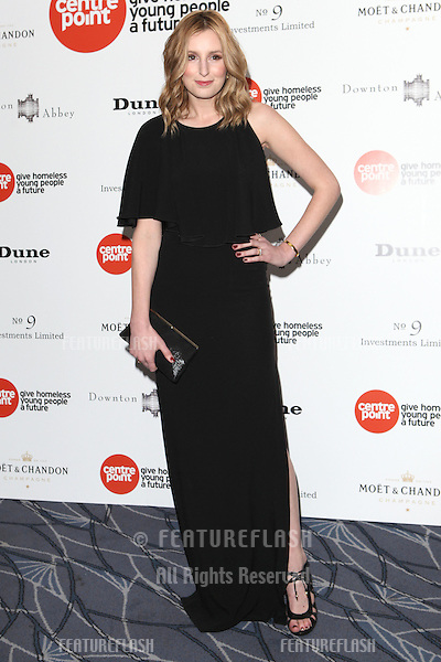 Laura Carmichael arriving for the Downton Abbey Ball, The Savoy, London.  30/04/2015 Picture by: Alexandra Glen / Featureflash