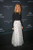 Sandrine Kiberlain en photocall avant la soiréee Kering Women In Motion Awards lors du soixante-dixième (70ème) Festival du Film à Cannes, Place de la Castre, Cannes, Sud de la France, dimanche 21 mai 2017. Philippe FARJON / VISUAL Press Agency