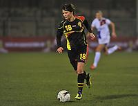 Netherlands U17 - Belgium U17 : Lotte Aertsen.foto Joke Vuylsteke / Vrouwenteam.be