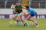 Paudie Clifford, Kerry in action against Robert McDaid, Dublin during the Allianz Football League Division 1 South between Kerry and Dublin at Semple Stadium, Thurles on Sunday.