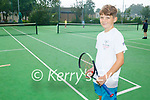 David Walsh from Tralee and a members of the Tralee Tennis Club, who won the Westport Junior Tennis Open last week.