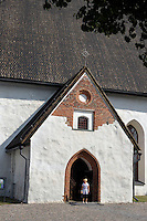 La cattedrale. The cathedral.<br /> Porvoo Borgå è un'antica città medievale dichiarata dall'UNESCO patrimonio dell'umanità.<br /> Porvoo Borgå is an old medieval town, UNESCO World Heritage Site.